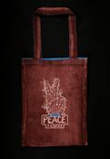Peace - модные сумки ручной работы, молодежные сумки из ткани.